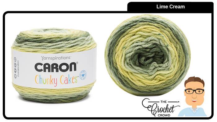 Caron Chunky Cakes Lime Cream