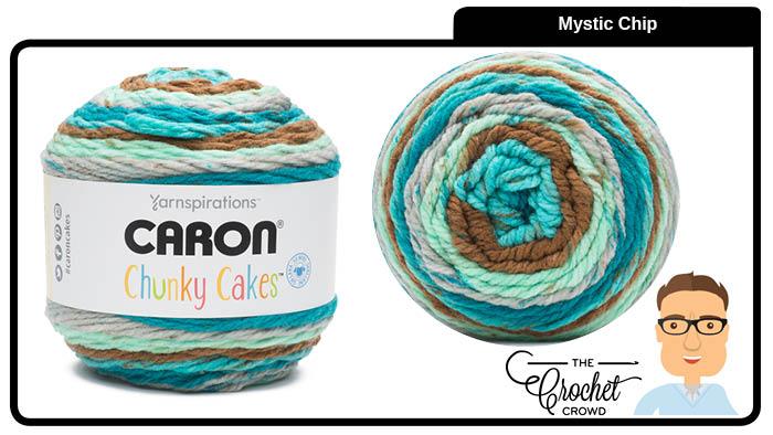 Caron Chunky Cakes Mystic Chip