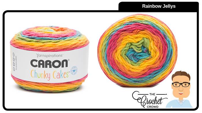 Caron Chunky Cakes Rainbow Jellys