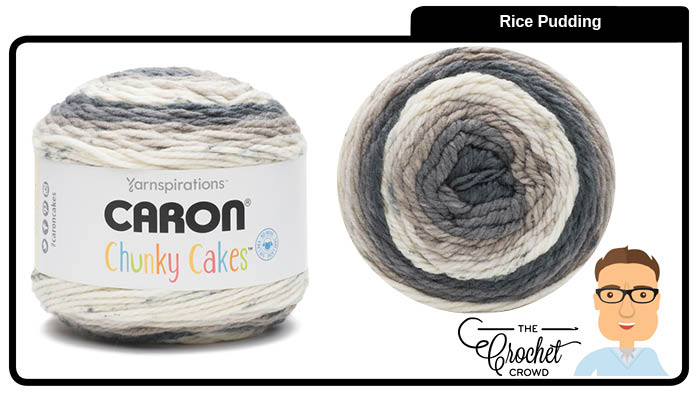 Caron Chunky Cakes Rice Pudding