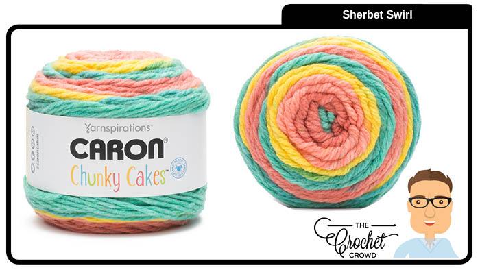 Caron Chunky Cakes Sherbet Swir