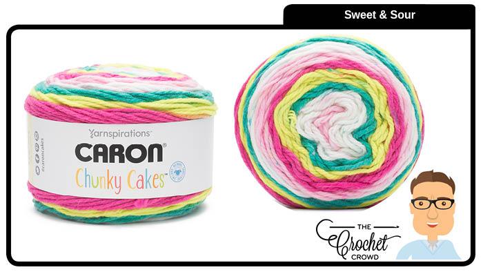 Caron Chunky Cakes Sweet & Sour