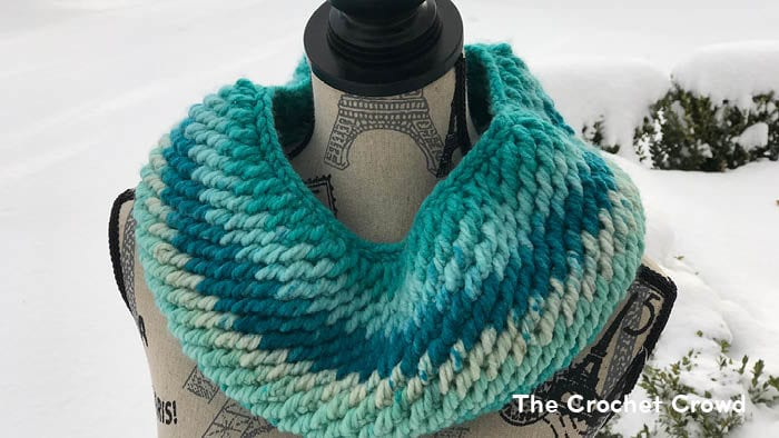 Crochet Reversible Cowl