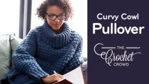 Crochet Curvy Pull Over