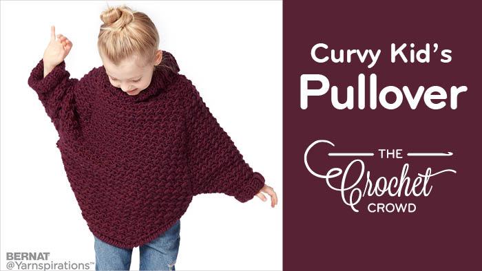 Crochet Curvy Kids Pullover