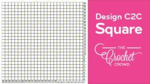 Crochet Self Design C2C Square