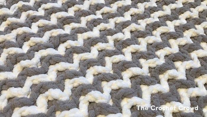 Mosaic Crochet Mikey