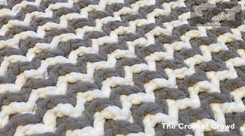 Crochet Interlocking Beginner Tutorial   The Crochet Crowd