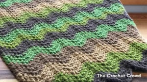 Crochet Through the Forest Afghan