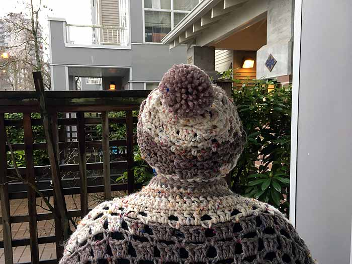 Crochet Modern Granny Hat by Donna Bondy