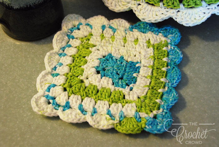 Crochet Modern Granny Kitchen Set by Jeanne Steinhilber
