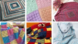 6 Block Inspired Crochet Blankets