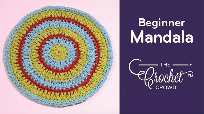 Crochet Beginner Mandala