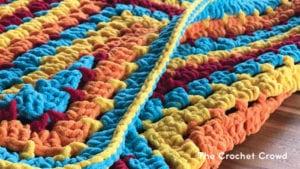 Crochet Toy Box Baby Blanket