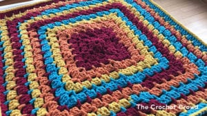 Crochet Toy Box Baby Blanket