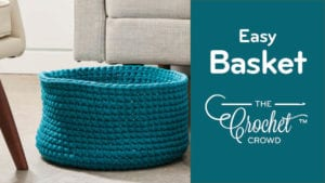 Crochet Easy Basket