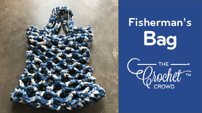 Crochet Fisherman's Net Market Bag