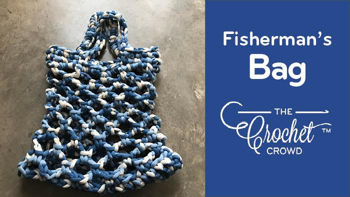 Crochet Fisherman's Net Market Bag Pattern
