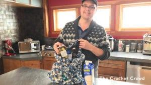 Crochet Fisherman's Net Market Bag