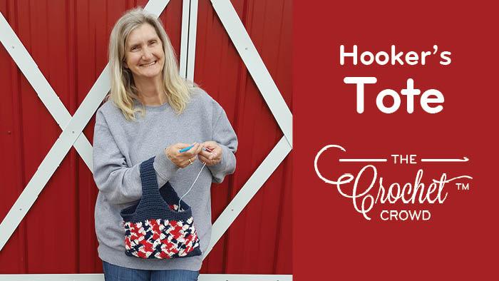Crocheters Hooker's Tote