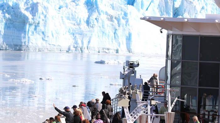 Hubbard Glacier - Crochet Cruises