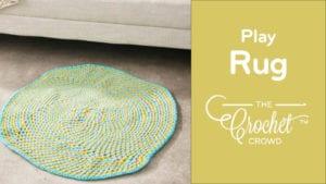 Crochet Play Rug