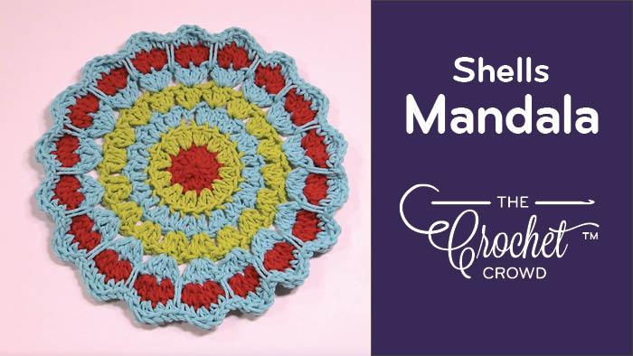 Crochet Shells Mandala