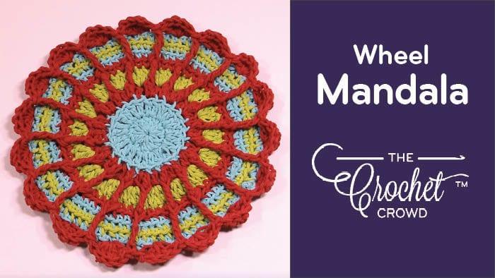Crochet Wheel Mandala