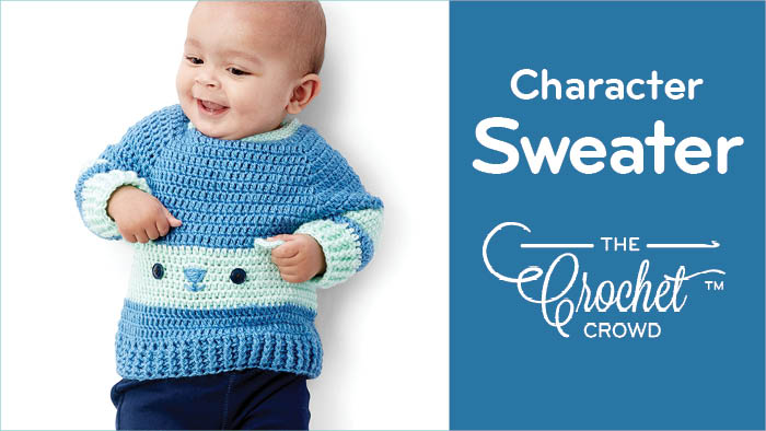 Crochet Bear Character Sweater + Tutorial