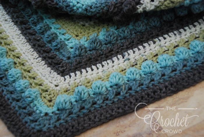 Crochet Hugs & Kisses Shawl by Jeanne Steinhilber