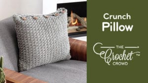 Crochet Crunch Pillow