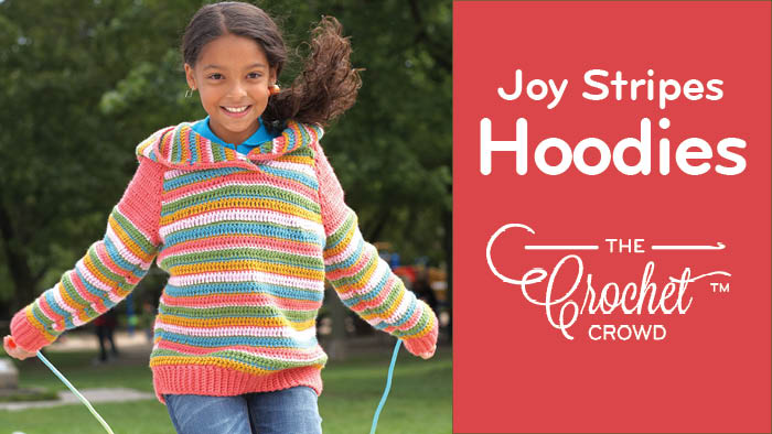 Crochet Joy Stripes Hoodies Pattern