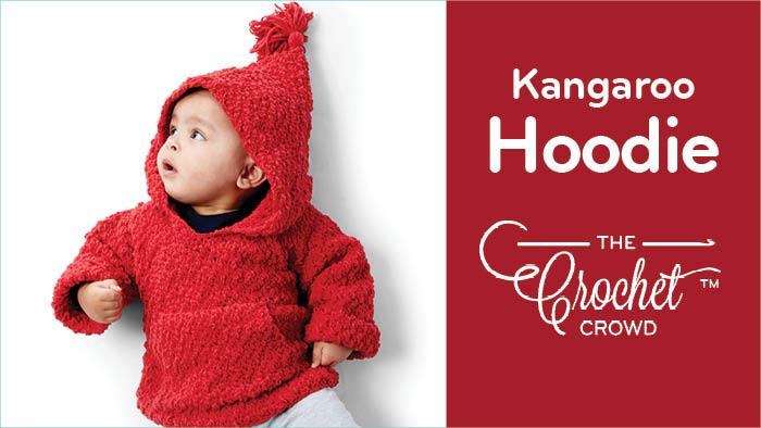 Crochet Kangaroo Hoodie