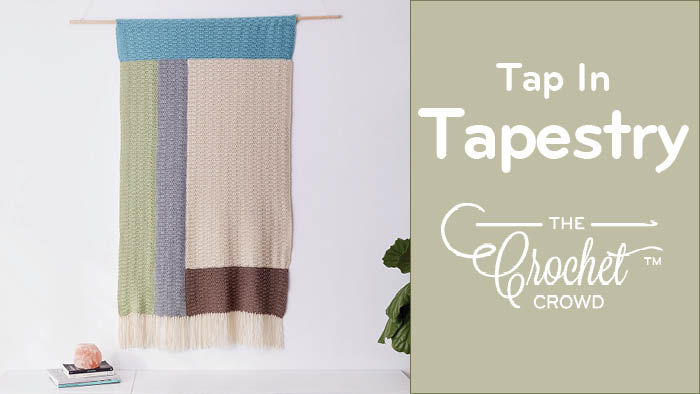 Crochet Tap In Tapestry Wall Hanging Pattern