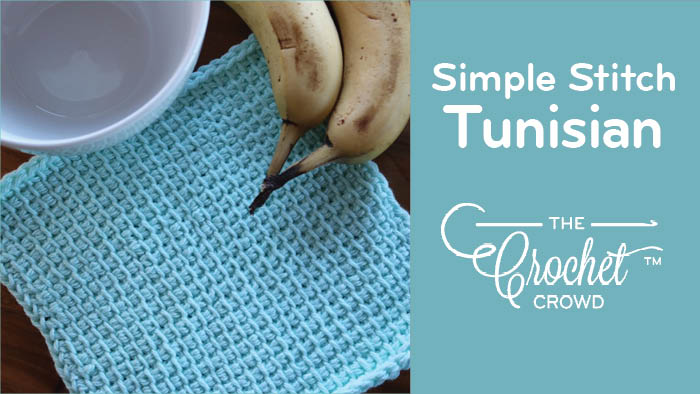 Tunisian Simple Stitch + Tutorial