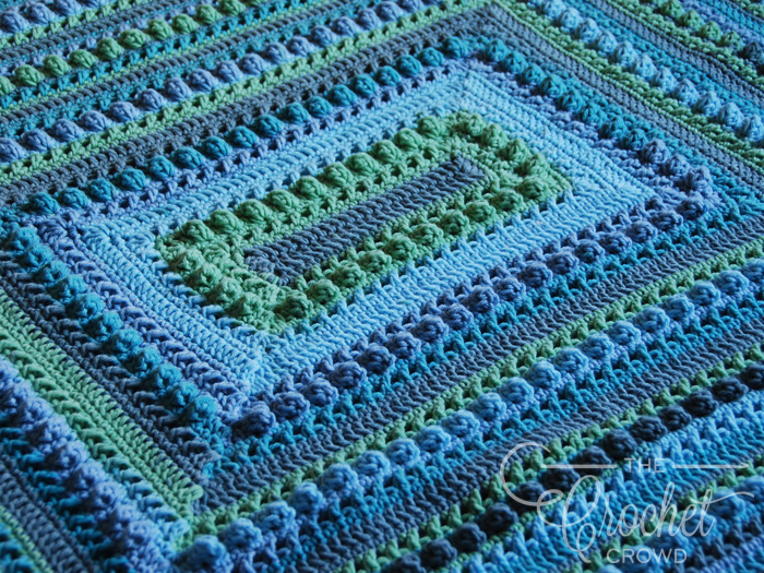Crochet Hugs & Kisses Around the Block by Jeanne Steinhilber