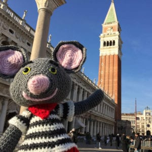 Crochet Antonio Mouse