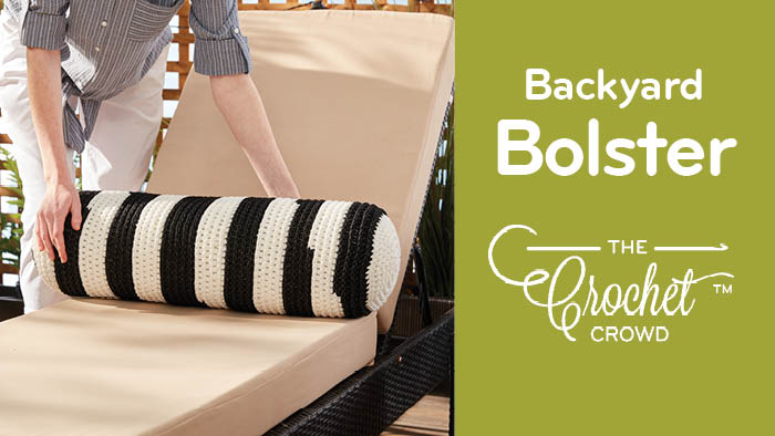 Crochet Backyard Bolster
