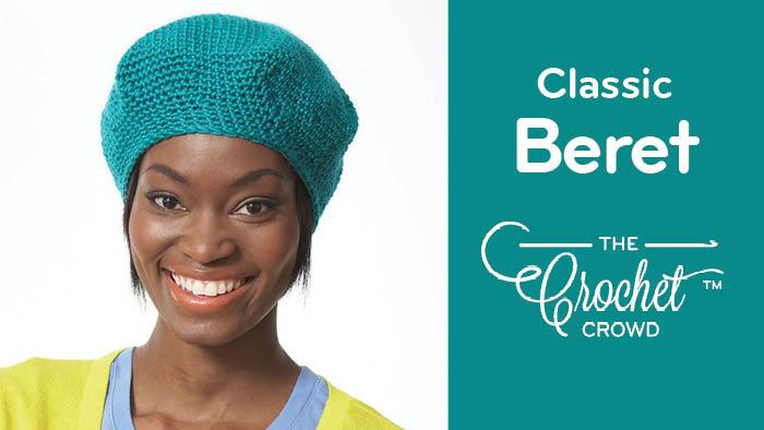 Crochet Classic Beret