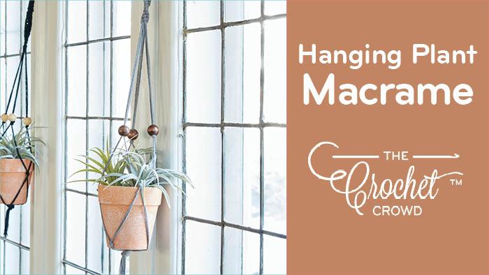 Hanging Plant Macrame