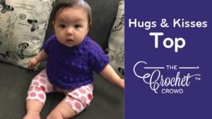 Hugs & Kisses Baby Top