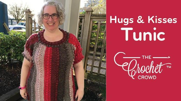 Crochet Hugs & Kisses Tunic