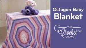 Crochet Octagon Baby Blanket