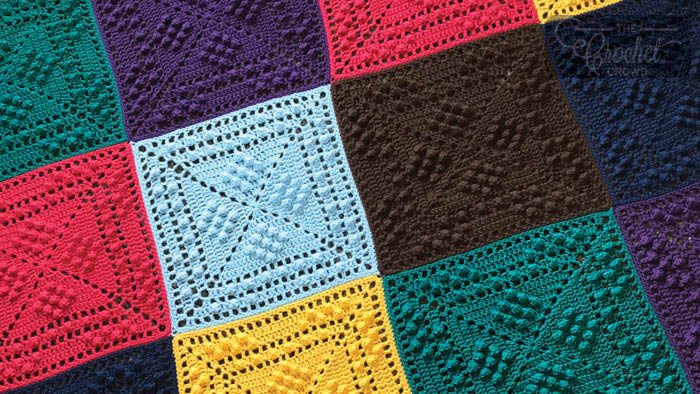 Crochet Sheldon Sqd Granny Square Tutorial The Crochet Crowd