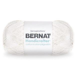 Bernat Handicrafter Cotton - White