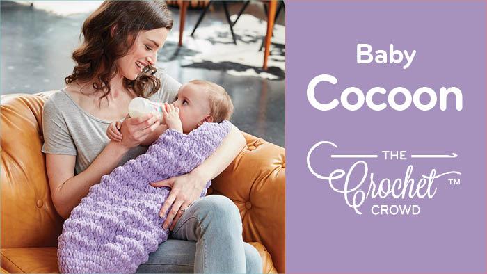 Crochet Baby Cocoon Pattern + Tutorial