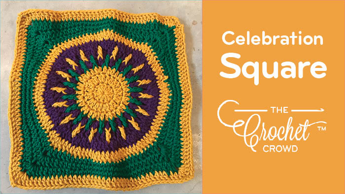 Crochet Celebration Square