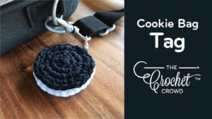Crochet Cookie Bag Tag