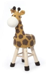 Crochet Giraffe by Haakpret