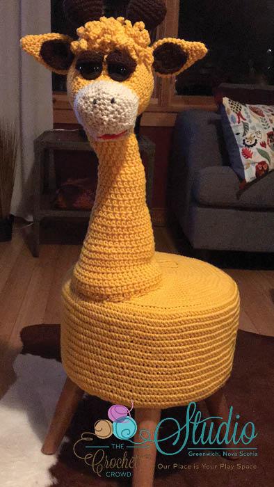 Crochet Giraffe Without Spots